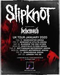 slipknot announce january 2020 shows