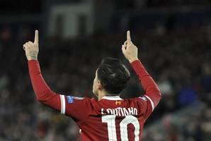 coutinho will not start against schalke: kovac