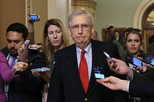 mcconnell tries to sway democrats against changing senate rules on filibuster