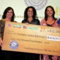 TravelCenters of America Presents Donation Check to St. Christopher Fund From Sales of SCF Merchandise