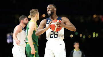 Kemba Walker, Team USA Defeat Australia in World Cup Tune-Up