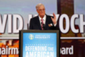 david koch, ny billionaire and major funder of right-wing causes, is dead at 79