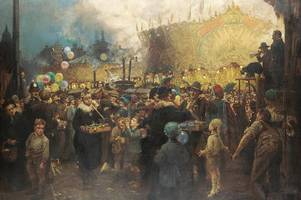 arthur spooner was 'nottingham's artist' - and painted hundreds of pictures in his 89 years