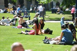 Met Office issues level three heatwave warning for Bank Holiday weekend