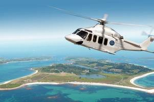 you can now book to fly to the isles of scilly from penzance's new heliport