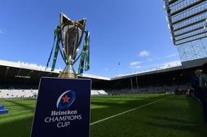 bath rugby's 2019/20 heineken champions cup fixtures revealed