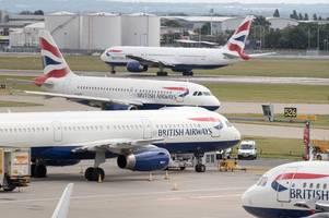 british airways strike dates revealed as passengers fear delays