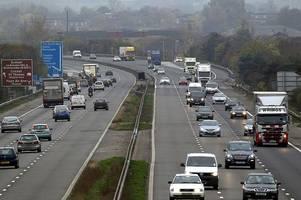m5 traffic chaos as bank holiday weekend getaway begins - live updates