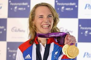 'something needs to change': paralympian sophie christiansen cbe left in tears after godalming train incident