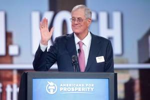 koch pumps billions into campaign to secure antonin scalia a seat in the holy trinity