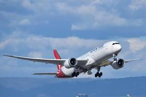 watch: qantas trials world's longest flight from london to sydney