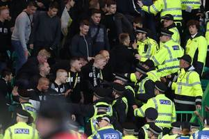 Video shows police clash with Swedish fans at Celtic's Europa League tie with AIK