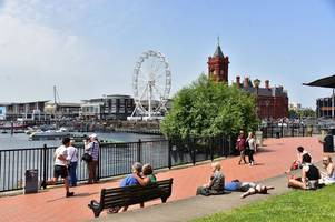 how hot it will be where you live over the bank holiday weekend, according to the met office weather forecast