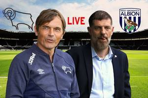 Derby County v West Brom live - build-up, team news and analysis ahead of Championship clash