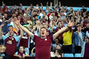 'twelfth man? and the rest' how the aston villa 2 everton 0 atmosphere rated