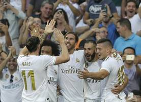 real madrid held by valladolid in home opener
