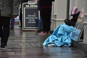 the true scale of homelessness in cardiff revealed as 4,000 people, including hundreds of children, plea for help