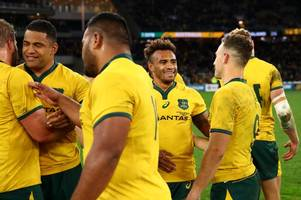 the novel way australia's stars found out they had made the rugby world cup squad