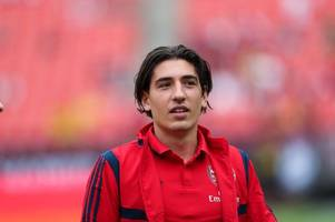 arsenal fans will love what hector bellerin did ahead of liverpool game