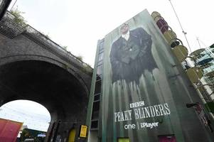 peaky blinders season 5: meet the artist behind 60ft tommy shelby mural unveiled at custard factory