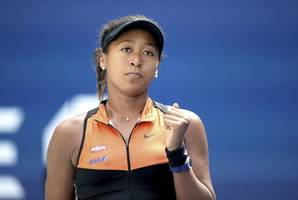naomi osaka digs deep to reach second round in us open defence