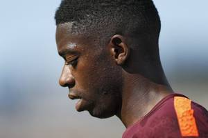 dembele's agent insists he is staying at barca