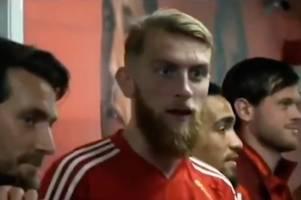 oli mcburnie sends scotland fans into meltdown as he's caught on camera making shock 'claim'