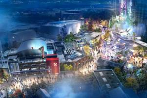 disneyland paris unveils plans for a new avengers campus including a spider-man ride