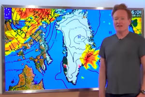 conan (probably) blows trump's greenland deal by totally butchering their local language (video)