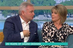 eamonn holmes and ruth langsford stun this morning viewers with tense diy row
