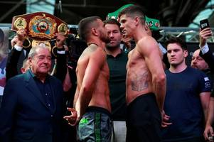 luke campbell v vasiliy lomachenko prediction, can cool hand shake up the matrix and the world?