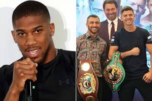 anthony joshua reveals how luke campbell can topple vasiliy lomachenko tonight