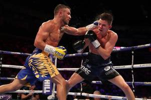 vasyl lomachenko ends luke campbell's world title dream but hull star underlines quality