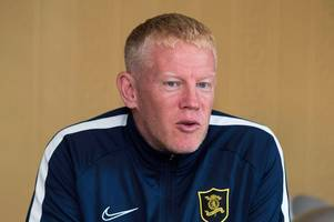 gary holt to miss livingston's clash with st mirren after hospital admission