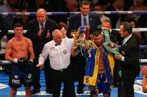 luke campbell out of hospital but in emotional pain as he promises world title win