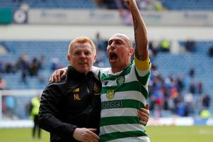neil lennon slams sky sports as celtic boss calls out derby coverage with brooks koepka quip