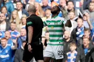 odsonne edouard leads the celtic social media party as he delivers two word message to critics