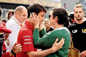ferrari's charles leclerc wins maiden gp, dedicates it to crash-victim hubert