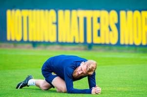 oli mcburnie holds scotland clear the air talks as £20m striker fronts up over that video