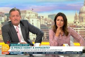 good morning britain's piers morgan launches rant at prince harry and meghan markle