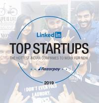 linkedin recognises razorpay among india's top 10 startups to work with