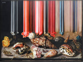 Artist Olan Ventura clever updates on 17th Century Still Lifes