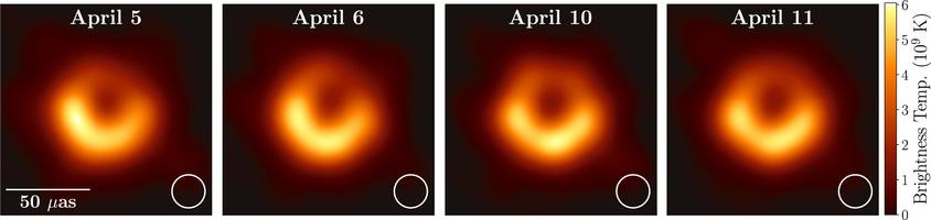 the scientists who photographed a supermassive black hole for the first time just won a $3 million prize. here's their groundbreaking image.