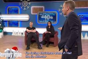 man who appeared on the jeremy kyle show dubbed the most hated guest says he wished he could die