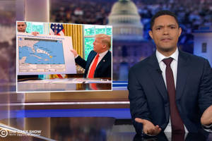 trevor noah wants to save the amazon with trump's 'magic sharpie' (video)