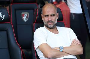 man city boss pep guardiola rejected chance to sign barcelona ace this summer