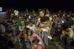 mexico says it has slowed migrant flow 56% in 3 months
