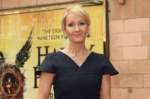 jk rowling sparks harry potter new film speculation in cryptic tweet