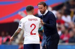 kieran trippier might hate tapas... but spanish influence is already rubbing off