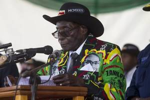 robert mugabe to be buried at heroes' shrine